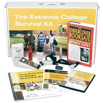 College Dorm or Apartment Safety & Security Kit