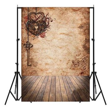 210X150cm Vintage Vinyl Studio Photo Backdrop Wooden Floor Photography Background Cloth Photo Booth Prop Party Events Favor