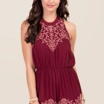 Hanna Embroidered Romper