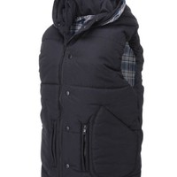 FLATSEVEN Mens Padded Vest Collection