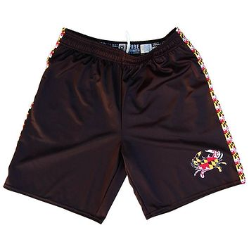 Maryland Flag Crab Lacrosse Shorts