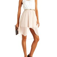Lace-Back Hi-Low Tank Dress: Charlotte Russe