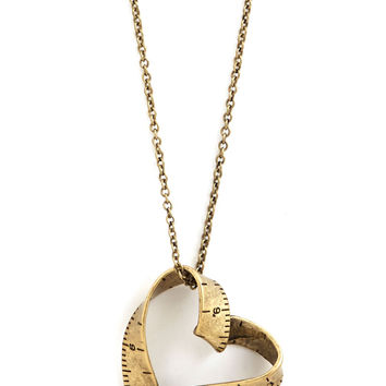 Love Beyond Measure Necklace | Mod Retro Vintage Necklaces | ModCloth.com