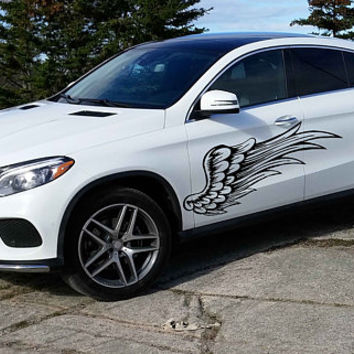 Angel wings car hood decal Angel wings Car Decals wings Car Truck wings Side Body Graphics wings Decal for car kikcar156