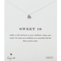 Sweet 16 Silver-Plated Necklace - Dogeared - Silver
