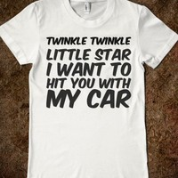 Twinkle-Female White T-Shirt