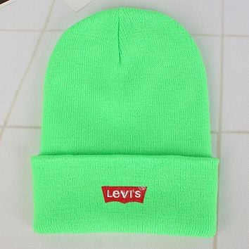 Perfect Levi's  Fashion Edgy  Winter Beanies Knit Hat Cap