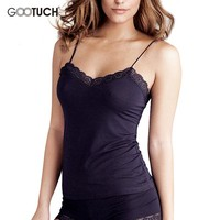 Women Camisole Casual Camis Tops Summer Style Ladies Tank Tops 5XL 6XL 7XL Modal Sexy V Neck Spaghetti Strap Vest K-7013