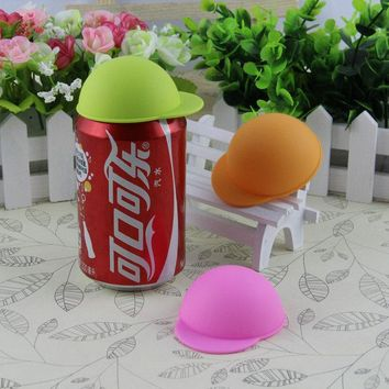 3Pcs/lot Can Topper Caps Fizz Keeper Soda Beer Jokari Beverage Bottle Lids Cover Reusable Protector Snap On Storage Kitchen Bar