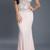 Black Label Couture 53 Jeweled Evening Gown Prom Dress