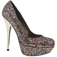 Women's Multi Schuh Prince Court Glitter at Schuh