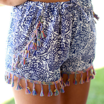Around the Clock Short - Navy