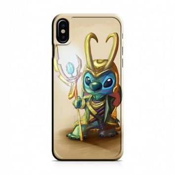 Loki Stitches Design iPhone X Case