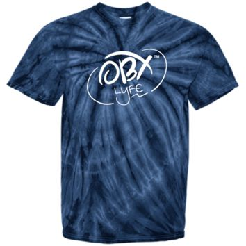 OBX Lyfe Cloud White Youth Tie Dye T-Shirt in 12 Colors