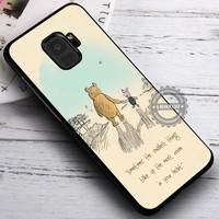 Piglet Winnie The Pooh Classic Vintage iPhone X 8 7 Plus 6s Cases Samsung Galaxy S9 S8 Plus S7 edge NOTE 8 Covers #SamsungS9 #iphoneX