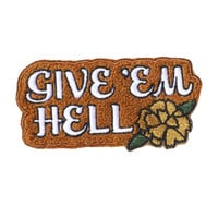 Give Hell Chenille Patch