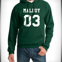 Malfoy 03 Harry Potter Unisex Pullover Hoodie available color Deepforest (Green), Black, White, Maroon, Navy