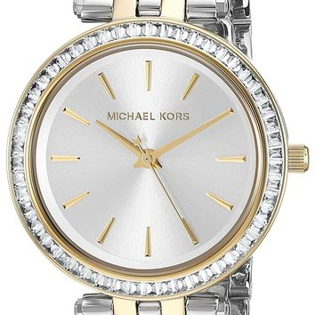 Michael Kors Women's Mini Darci Two-Tone Watch MK3405