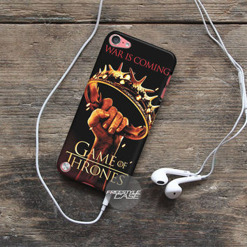 Crown Game Of Thrones War Is Coming  iPod Case Cover Series