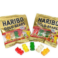 HARIBO GOLD MINI GUMMY BEARS 4OZ PACKS