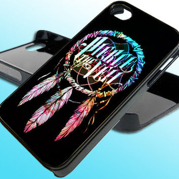 Dream Catcher Pierce The Veil for iPhone 4/4s Case - iPhone 5 Case - Samsung S3 - Samsung S4 - Black - White (Option Please)