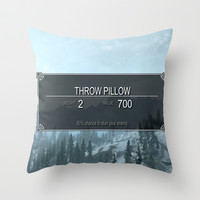 Skyrim Anything Throw Pillow by Danyul | Society6