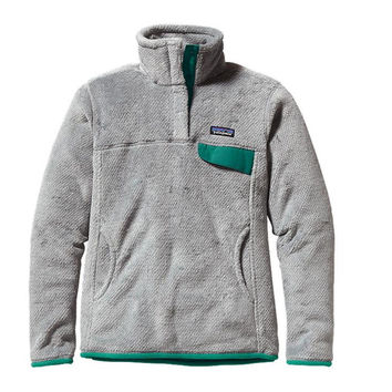 Patagonia Women's Re-Tool Snap-T Jacket Tailored Grey/Nickel/Emerald