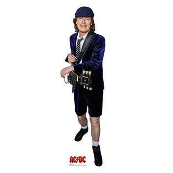 AC/DC Entertainment Collectible: Rare 2015 Angus Young Life Size Cardboard Standup Figure
