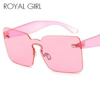 ROYAL GIRL Rimless Sunglasses