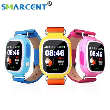 Smart baby smart watch Q90 phone kids GPS Wifi Smart Watch SOS GPS Location Device Tracker Kid Safe Monitor children