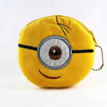 "Despicable me "" Minion""   Fabric Coin Purse for Kids"