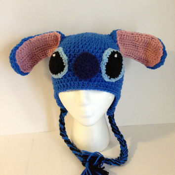 Lilo & Stitch Inspired Crochet Beanie Pattern