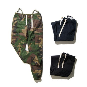 Hip-hop Training Camouflage Fashion Pants [8598657475]