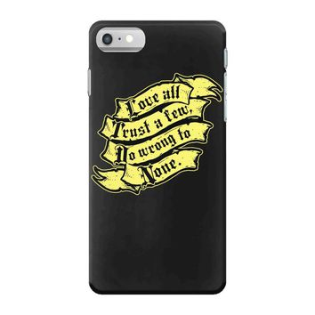 shakespeare on love iPhone 7 Case