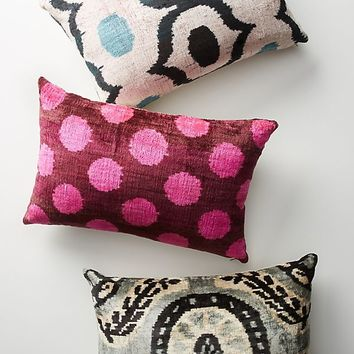Patterned Velvet Pillow