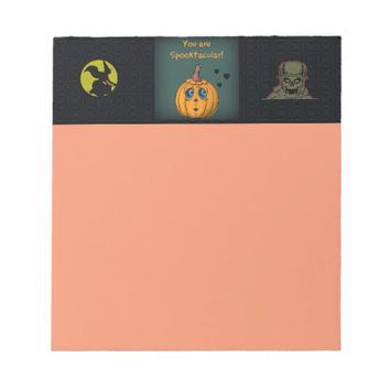 Halloween Note Pad