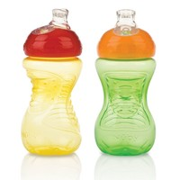 Nuby 2-pk. Super Spout Easy Gripper 10-oz. Cups - Baby (Natural)