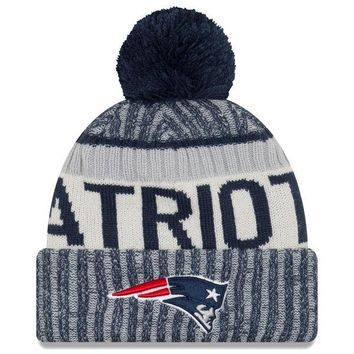 New England Patriots 2017 Sideline Winter Knit Hat
