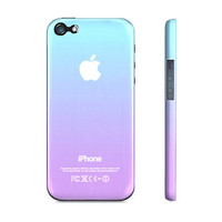 Purple & Blue Ombre - Premium Slim Fit Iphone 5 Case - Available for Iphone 4/4s and Galaxy S3