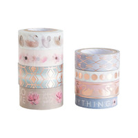 Serenity Swan Washi Tube By Craft Smart™