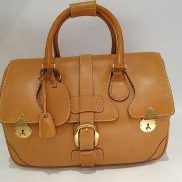 Authentic Vintage GUCCI Leather Luggage Doctor's BAG