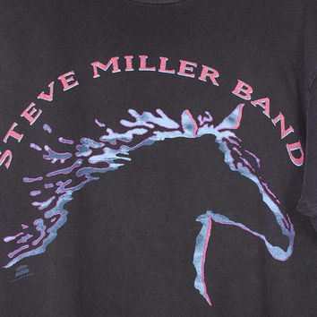 vintage steve miller band shirt - 1993 - single stitch