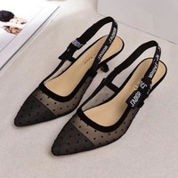 Dior Women Fashion Casual Heels Shoes