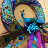 peacock wreath!