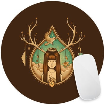 Autumn Delight Mouse Pad Decal