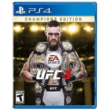 Ufc 3 Champion Edition Ps4