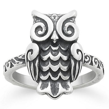 James Avery Woodland Owl Ring | Dillards