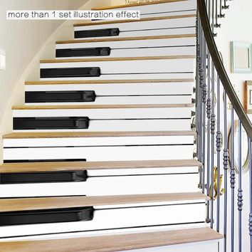 DIY Steps Sticker Removable Stair Sticker Home Decor Ceramic Tiles Patterns wall decals