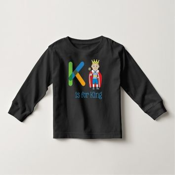 K Is For King Toddler T-shirt