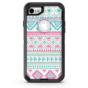 Doodle Aztec Pattern - iPhone 7 or 8 OtterBox Case & Skin Kits